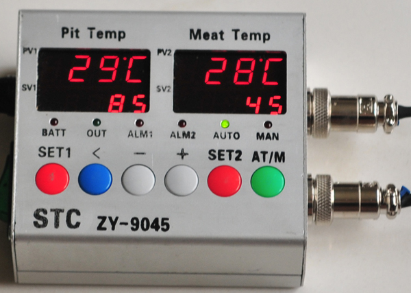 Programmable 4 Temp  Stages, Dual Probes, PID Controller
