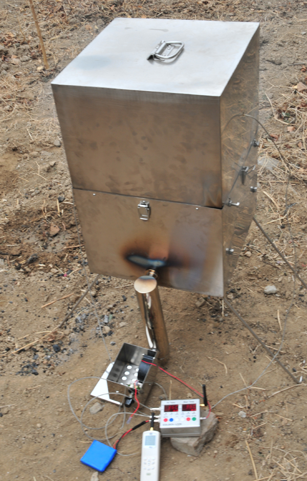 Promountain Charcoal Bbq Barbecue Barbeque Grill Smoker