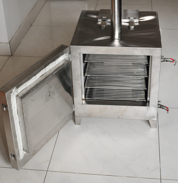 D I Y Wood Pellet Burner To Turn Offset To Automatic Pit